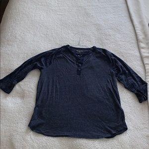 Men's Express Henley Shirt - Large